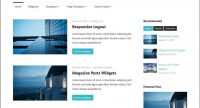 Template WordPress Gratis Maxwell, Elegan Minimalis