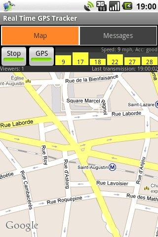 Real-Time GPS Tracker - Aplikasi GPS Android Terbaik