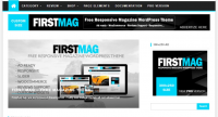 Theme Wordpress Gratis First Mag