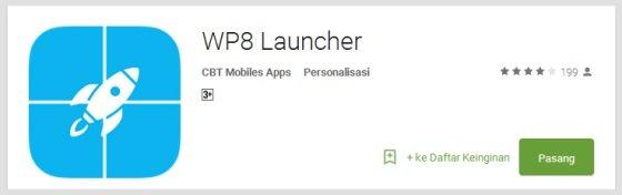 wp8-launcher - Aplikasi Android Terunik Terbaru