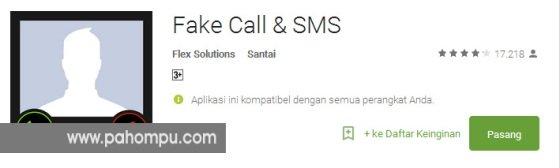 3-fake-call-sms - 5 Aplikasi Unik di Android Yang Layak Anda Coba