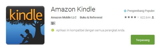 kindle - Aplikasi Terbaik Untuk Membaca e-Book di Smartphone