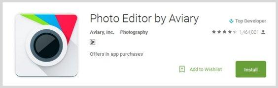 Photo Editor by Aviary - Aplikasi Wajib untuk Para Pecinta Selfie