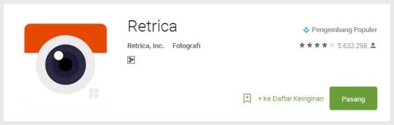 retrica - Aplikasi Wajib untuk Para Pecinta Selfie