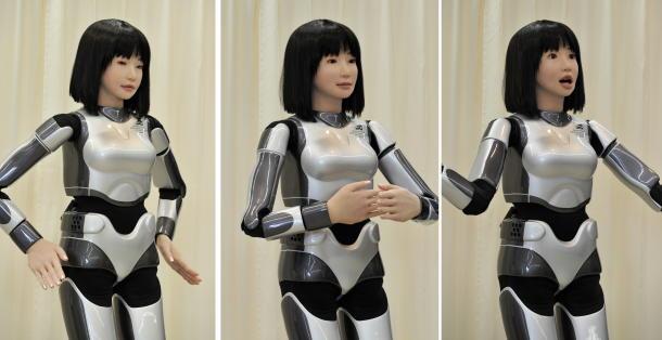 teknologi terbaru jepang - robot canggih