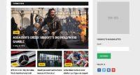 Template WordPress Gratis Deadline, Responsive dan Fokus