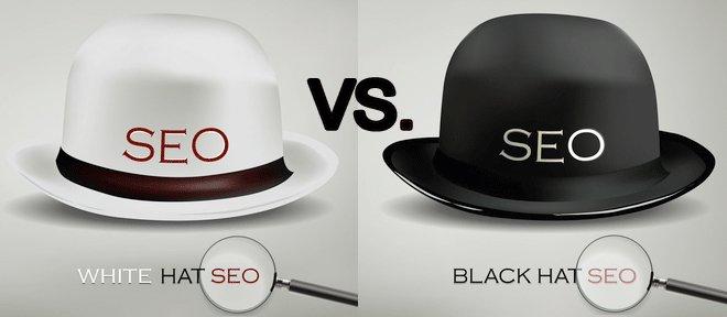 Perbedaan Antara White Hat SEO dan Black Hat SEO