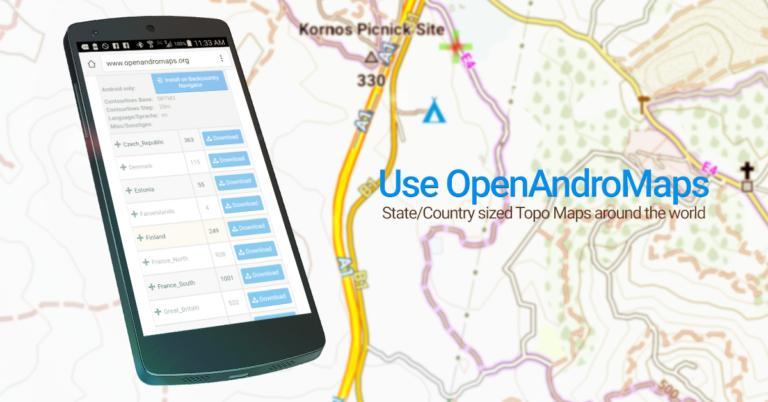 BackCountry Nav Topo Maps GPS - Aplikasi GPS Android Terbaik