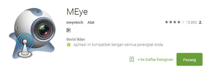 MEye - Aplikasi CCTV Android Terbaik dan Populer
