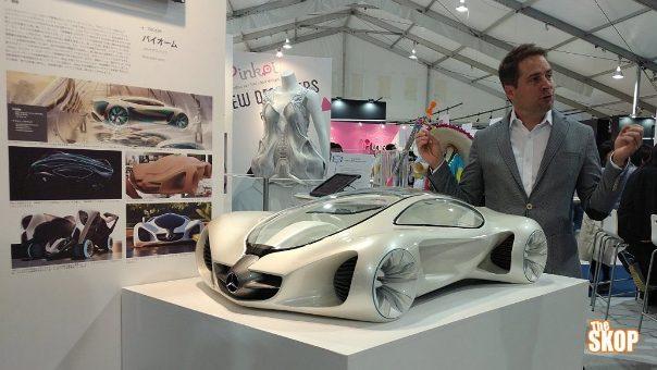 Prototipe Mercedes Biome Hasil Printer 3 Dimensi Pada Pameran Tokyo Design Week (Photo: The Skop)