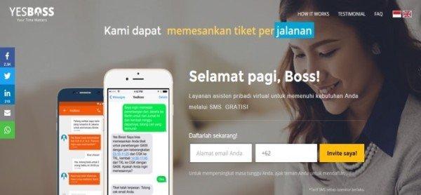 Yes Boss - Bisnis Online Yang Bisa Menginspirasi