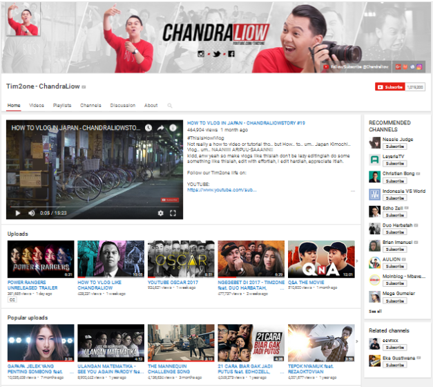 Bagian Channel Branding Youtube Penting