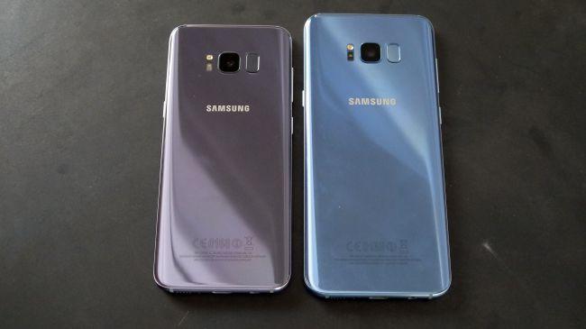 Perbedaan Samsung Galaxy S8 Dengan Samsung design Galaxy S8 Plus