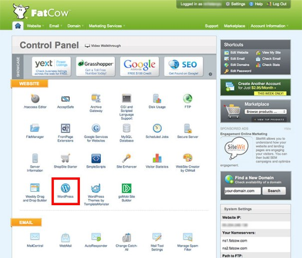 vDeck - Control Panel Web Hosting Paling Top