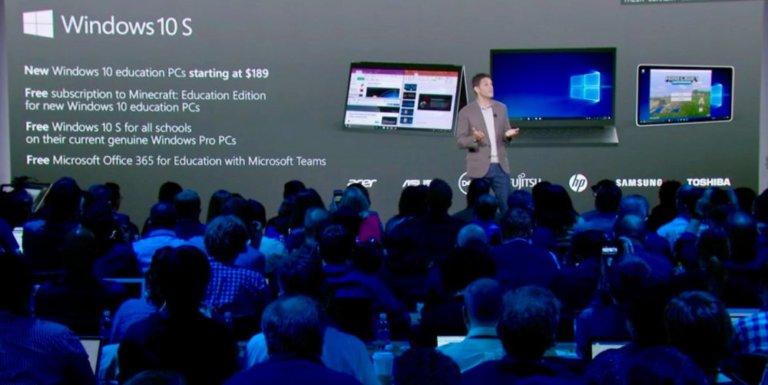 Windows 10 S Resmi Diluncurkan Microsoft