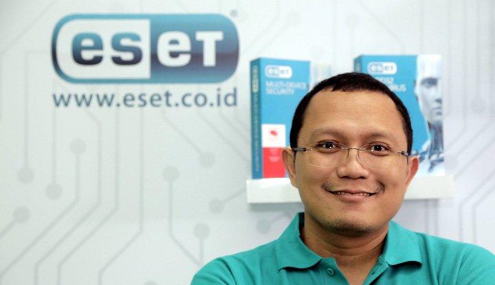 Technical Consultant PT Prosperita ESET Indonesia Yudhi Kukuh