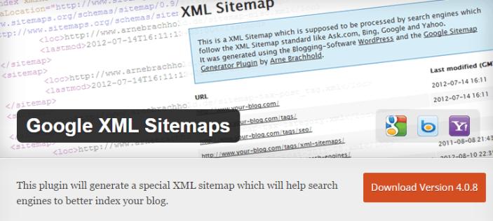 Google XML Sitemaps - Plugin SEO Terbaik Untuk Meningkatkan SEO Blog